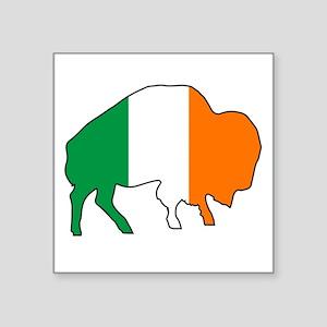 Buffalo Irish Flag Sticker
