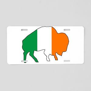 Buffalo Irish Flag Aluminum License Plate