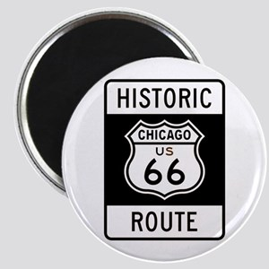 Chicago Historic Route 66 Magnet
