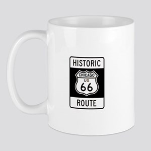 Chicago Historic Route 66 Mug