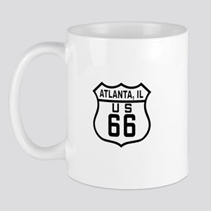 Altlanta, Illinois Route 66 Mug
