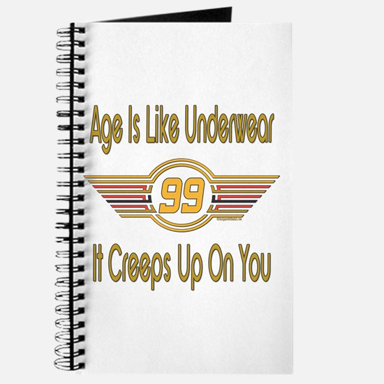 Funny 99th Birthday Journal
