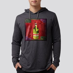 9th Quote; Vintage Vino Long Sleeve T-Shirt