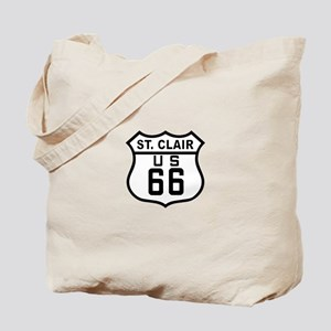 St. Clair Route 66 Tote Bag