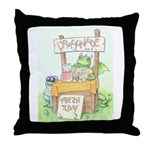 Dragonade Throw Pillow