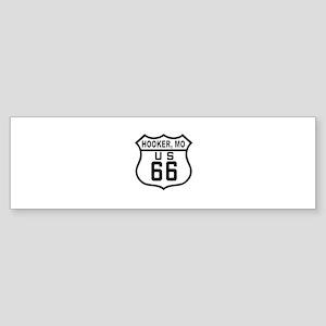 Hooker Route 66 Bumper Sticker