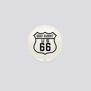 Gray Summit Mini Button