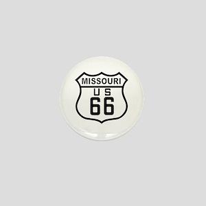 Missouri Route 66 Mini Button