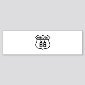 Missouri Route 66 Bumper Sticker