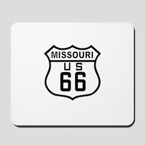 Missouri Route 66 Mousepad