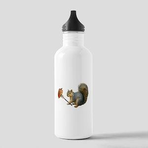Squirrel Acorn Fork Water Bottle