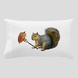 Squirrel Acorn Fork Pillow Case