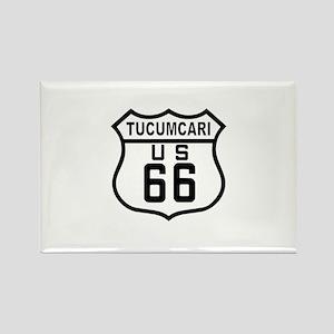 Tucumcari Route 66 Rectangle Magnet