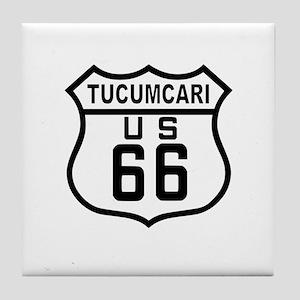 Tucumcari Route 66 Tile Coaster