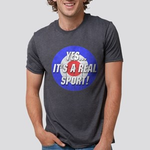 A Real Sport! Curling T-Shirt