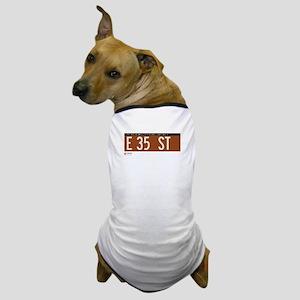 35th Street in NY Dog T-Shirt