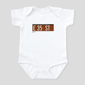 35th Street in NY Infant Bodysuit