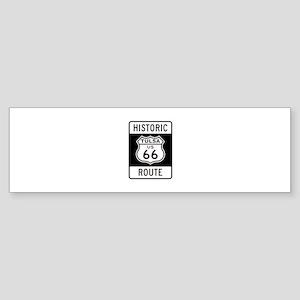 Tulsa, Oklahoma Historic Rout Bumper Sticker