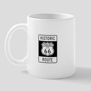 Tulsa, Oklahoma Historic Rout Mug