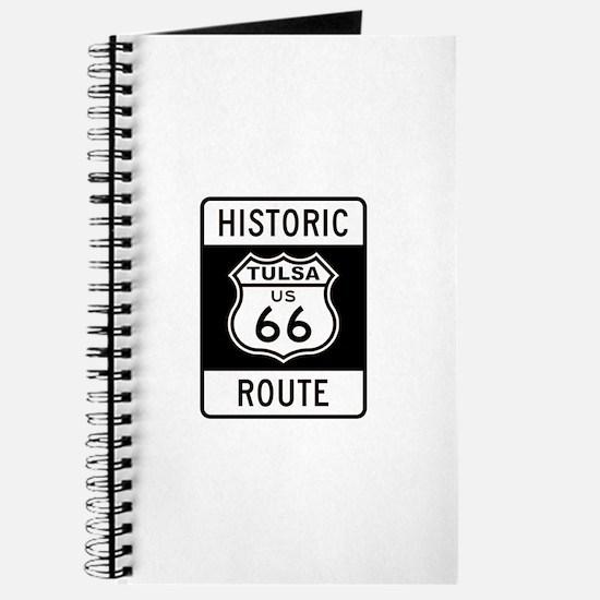 Tulsa, Oklahoma Historic Rout Journal