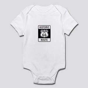 Tulsa, Oklahoma Historic Rout Infant Bodysuit