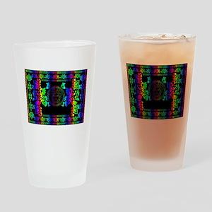rainbow Medusa Drinking Glass