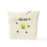 Irish Beer Shamrocks Tote Bag