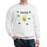 Irish Beer Shamrocks Sweatshirt