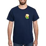 Irish Beer Shamrocks Dark T-Shirt
