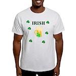 Irish Beer Shamrocks Light T-Shirt
