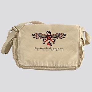 GIVING (Keep what you have) Messenger Bag