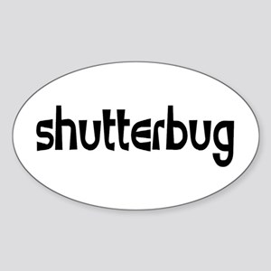 shutterbug Sticker (Oval)