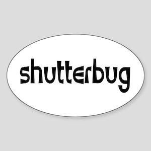 shutterbug Sticker (Oval)