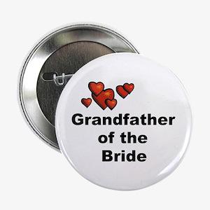 "Grandfather of the Bride 2.25"" Button"