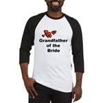 Grandfather of the Bride Baseball Jersey