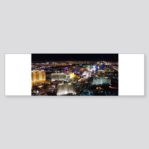 Las Vegas Strip Bumper Sticker