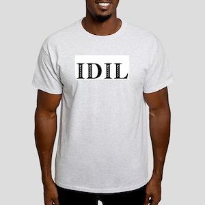 IDIL- I Dream In Lesbian Ash Grey T-Shirt
