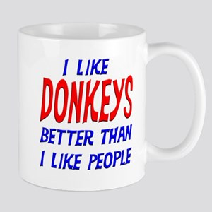 I Like Donkeys Mug