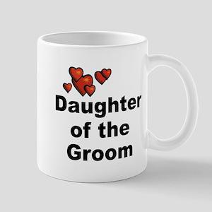 Hearts Daughter of the Groom Mug