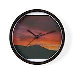 Sopris Sunset Wall Clock