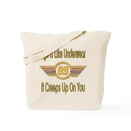 Funny 89th Birthday Tote Bag