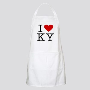 I Love Kentucky (KY) BBQ Apron