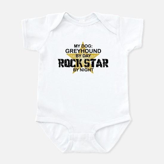 Greyhound RockStar Infant Bodysuit
