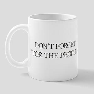 For The People Mug