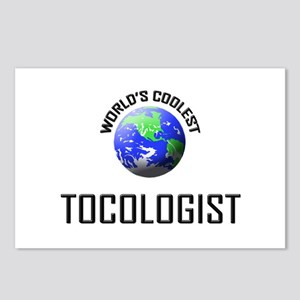 World's Coolest TOCOLOGIST Postcards (Package of 8