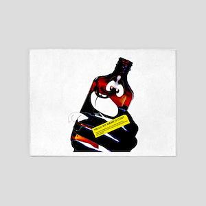 Cody the codeine Bottle 5'x7'Area Rug