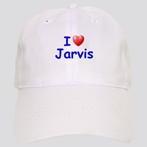I Love Jarvis (Blue) Cap