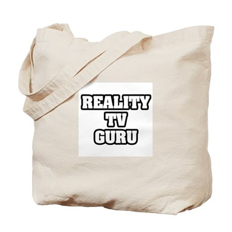 """Reality TV Guru"" Tote Bag"