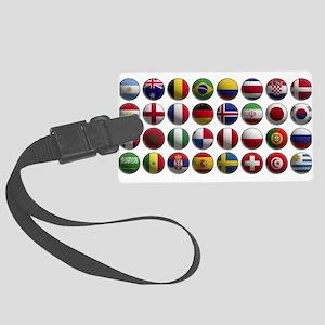 Coupe du monde 2018 Large Luggage Tag