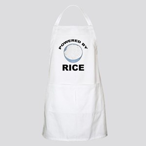 Powered By Rice BBQ Apron